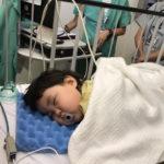 【育児記録58】全身麻酔をかけて視力検査&飲み込みのテストをしました